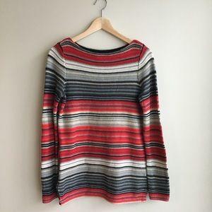 Lauren Ralph Lauren striped crewneck sweater